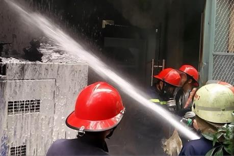 Xảy ra cháy tại một trụ sở ngân hàng ở Đà Nẵng