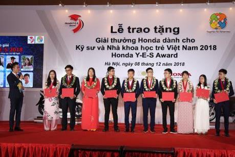 Honda Việt Nam khởi động giải thưởng Honda Y-E-S năm thứ 14