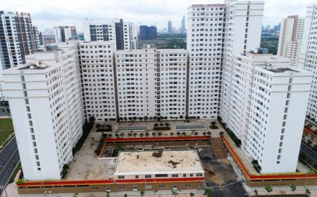 Tp. Hồ Chí Minh dùng nhà ở thương mại, nhà xã hội để bố trí tái định cư