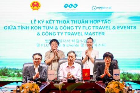 FLC Travel & Events bắt tay đối tác Hàn Quốc thu hút du khách du lịch đến Kon Tum