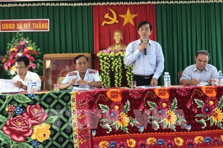 Công bố kết luận sai phạm về đất đai ở xã Mỹ Thắng, Bình Định