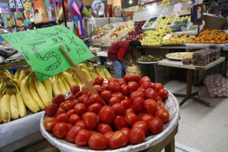 Thuế cà chua Mexico sẽ gây sốc giá với người tiêu dùng Mỹ
