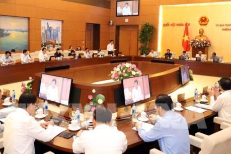 Phiên họp thứ 34 của Ủy ban Thường vụ Quốc hội: GDP quý I ước đạt 6,79%