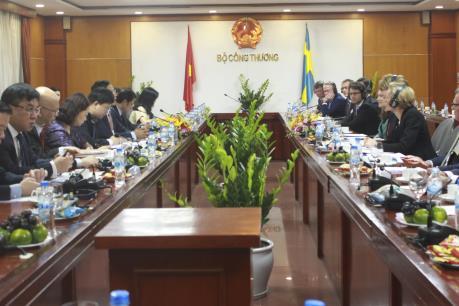 Thụy Điển sẽ hỗ trợ Việt Nam trong nhiều lĩnh vực