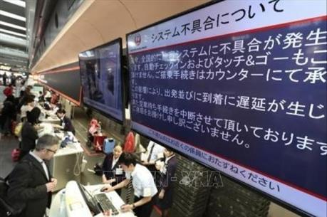 Hãng hàng không Nhật Bản JAL hủy 32 chuyến bay do lỗi hệ thống check-in