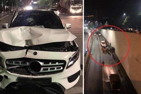 Khởi tố lái xe gây tai nạn tại hầm Kim Liên, Hà Nội