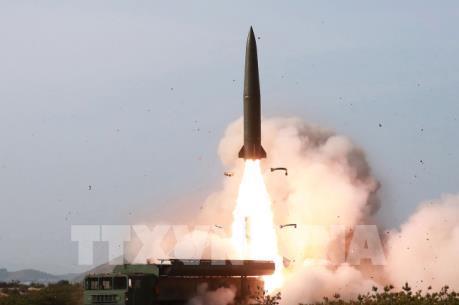 Triều Tiên lại phóng các vật thể chưa xác định
