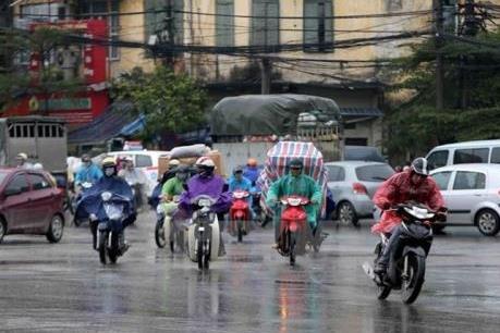 Thời tiết Hà Nội 10 ngày tới: Mưa rào và dông rải rác