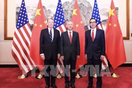 Mỹ - Trung kết thúc ngày đàm phán thương mại đầu tiên
