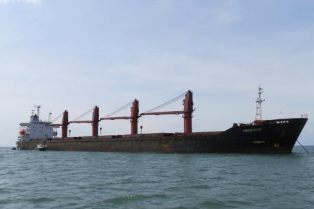 Mỹ bắt giữ tàu vận chuyển than và máy móc, vi phạm của Triều Tiên