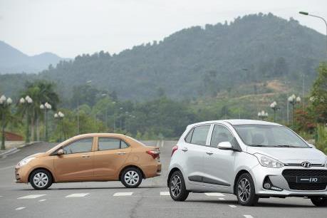 Grand i10 vươn lên vị trí dẫn đầu doanh số của Hyundai Thành Công
