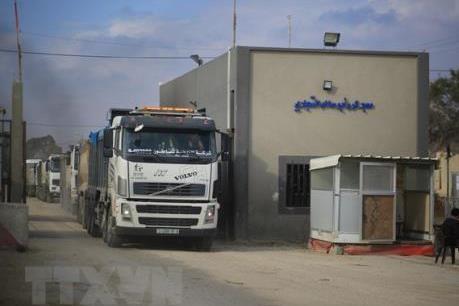 Israel dỡ bỏ lệnh cấm tại các cửa khẩu biên giới Dải Gaza
