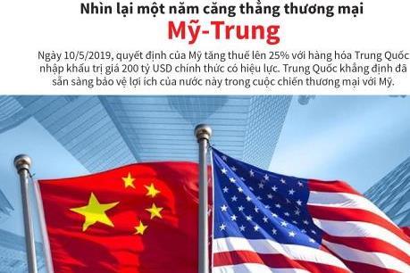 Nhìn lại một năm căng thẳng thương mại Mỹ - Trung