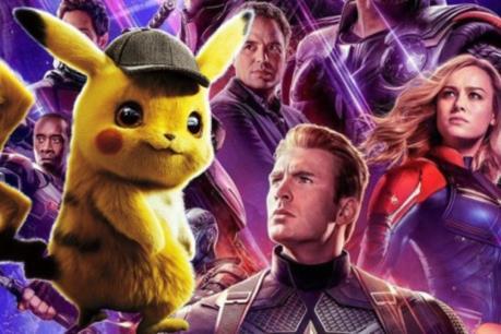"""""""Thám tử Pikachu"""" vẫn chưa thể soán ngôi đầu của siêu anh hùng Marvel"""