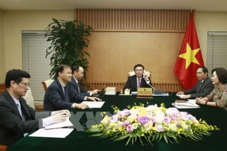 Phó Thủ tướng Vương Đình Huệ: Việt Nam coi trọng quan hệ Đối tác toàn diện với Hoa Kỳ
