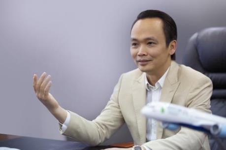 Chủ tịch FLC chia sẻ chiến lược phát triển của Bamboo Airways với báo Hàn Quốc