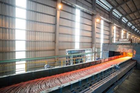 Lượng thép xuất khẩu của Hòa Phát tăng gần gấp 2 lần