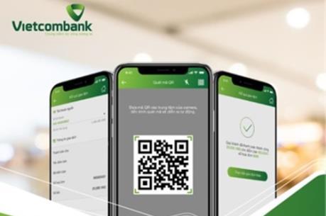 Vietcombank mở rộng thanh toán QRCode liên ngân hàng