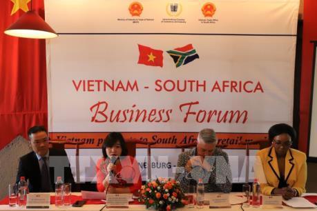 Quảng bá đưa hàng Việt Nam đến Nam Phi