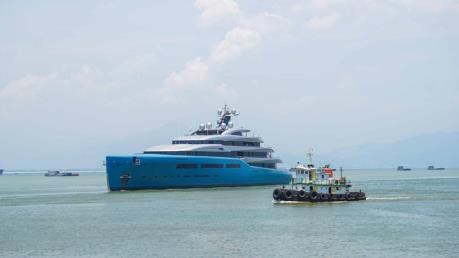 Siêu du thuyền của tỷ phú người Anh đến Đà Nẵng