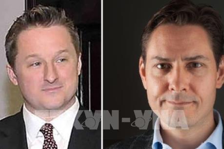 Canada đề nghị Trung Quốc trả tự do cho hai công dân nước này