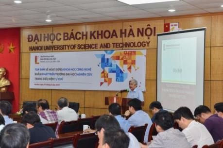 Bàn cách đẩy mạnh hoạt động khoa học công nghệ tại trường đại học