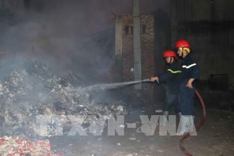Cháy tại Công ty CP sản xuất và thương mại giấy Paper Việt Nam
