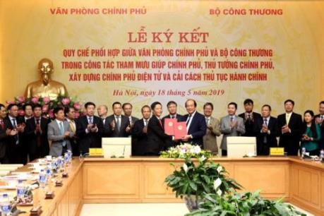 Bộ Công Thương phối hợp xây dựng Chính phủ điện tử và cải cách thủ tục hành chính
