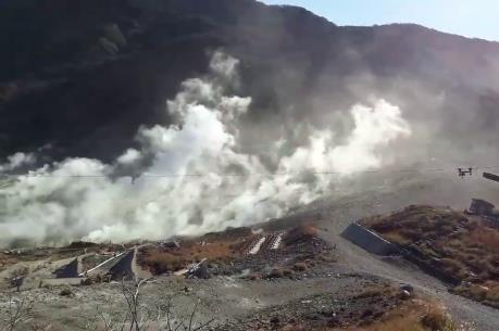 Nhật Bản nâng cảnh báo về hoạt động núi lửa Hakone