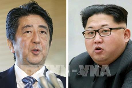 Thủ tướng Nhật Bản khẳng định mong muốn hội đàm với nhà lãnh đạo Triều Tiên