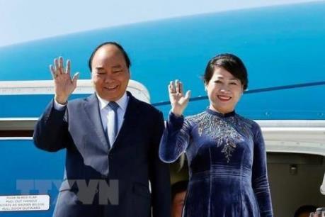 Thủ tướng Chính phủ Nguyễn Xuân Phúc lên đường thăm chính thức Liên bang Nga