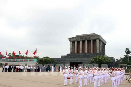 Lăng Chủ tịch Hồ Chí Minh tạm dừng tổ chức lễ viếng từ ngày 15/6
