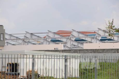 Bình Dương: Sập khung nhà xưởng làm 3 người thương vong