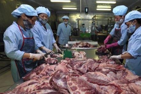 Tìm cách cấp đông thịt lợn đảm bảo nguồn cung cho thị trường