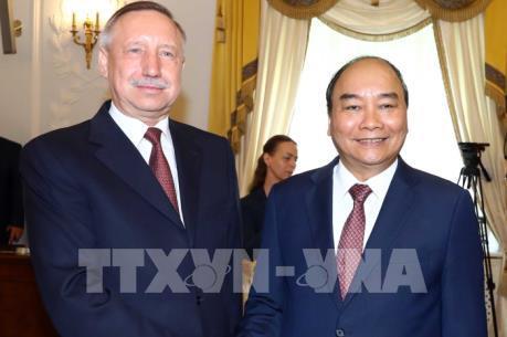 Thủ tướng đánh giá cao quan hệ giữa Saint Peterburg và các địa phương Việt Nam