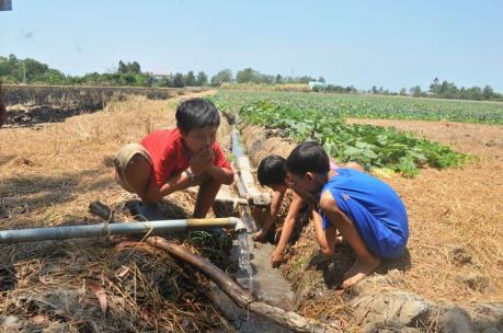 Huyện An Biên của Kiên Giang thiếu trầm trọng nước sạch