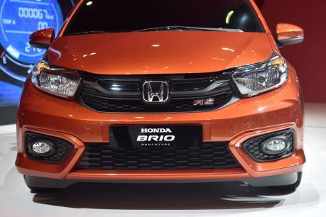 Honda Brio hoàn toàn mới chưa ra mắt thị trường Việt đã có ưu đãi