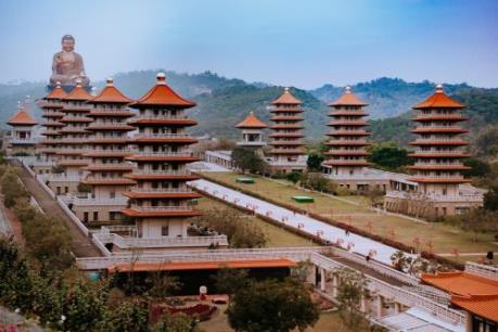 Mê mẩn vẻ đẹp kỳ vĩ của Phật Quang Sơn xứ Đài
