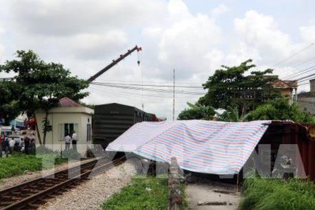 Công bố nguyên nhân tàu hỏa bị trật bánh tại Nam Định