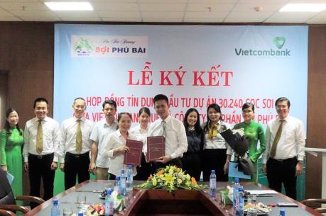 Vietcombank Huế ký hợp đồng tín dụng 364 tỷ đồng với Công ty sợi Phú Bài