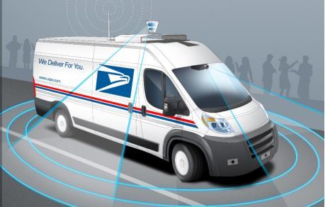 Bưu chính Mỹ thử nghiệm công nghệ chuyển phát không người lái