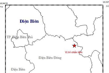 Điện Biên lại rung lắc vì dư chấn động đất mạnh