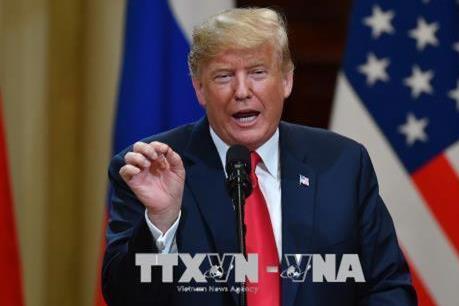 Tổng thống Mỹ Trump: Mỹ làm tốt công tác đàm phán thương mại với Trung Quốc