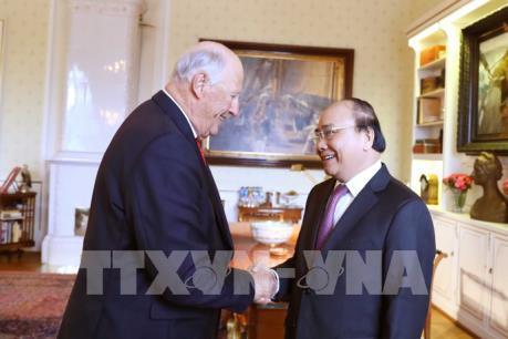 Thủ tướng Nguyễn Xuân Phúc hội kiến  với Nhà Vua Na Uy