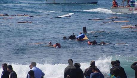 Libya giải cứu gần 300 người di cư trên biển