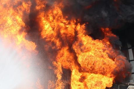 Hỏa hoạn tại cửa hàng kinh doanh bếp, ga, đồ gia dụng ở Thanh Hóa