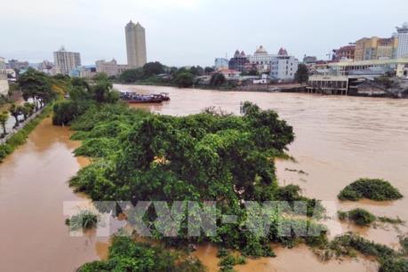 Quảng Ninh: Mưa lũ khiến một người mất tích, hàng chục đò sắt bị đắm
