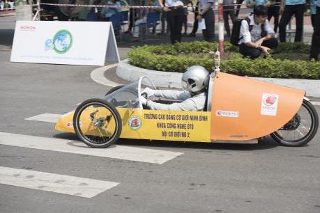 Chung kết cuộc thi  lái xe sinh thái - tiết kiệm nhiên liệu Honda 2019