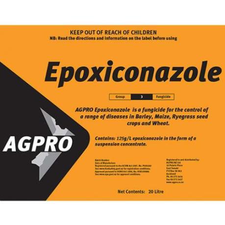 Pháp cấm thuốc bảo vệ thực vật chứa chất epoxiconazole