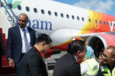 Vietjet Air khai trương đường bay đầu tiên từ Tp. Hồ Chí Minh đến Bali (Indonesia)